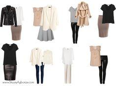 Blush & Black Capsule Wardrobe | Stacey's Wardrobe