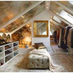 I could totally turn my attic into this!