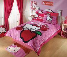 Hello Kitty Bedding Set: Apple