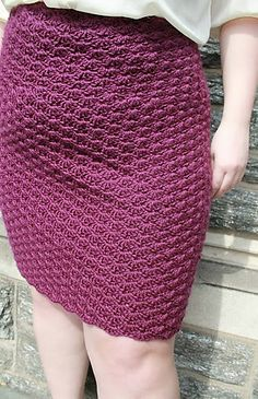 Ravelry: [Plus Size] Shell Skirt pattern by Abigail Haze