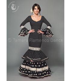 Aires de Feria Maestranza negro Trajes de Flamenca 2016 MUJER |...