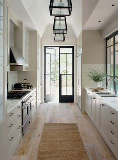 Galley kitchen 1 Kitchen Layouts Ideas For Each and Every Home