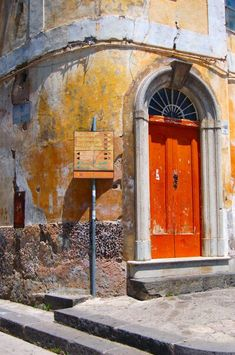 Ravello, Italy. Love this texture and colors
