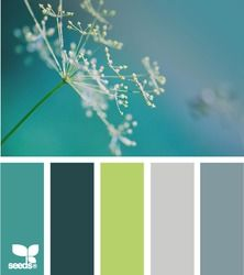color nature - design seeds I just love the color palette Design Seeds, Teal Green Color, Red Colour, Blue Green, Bright Green, Green Color Pallete, Lime Green Decor, Green Decoration, Green Palette