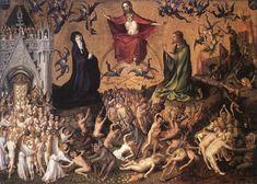Stefan Lochner : The Last Judgement (Wallraf-Richartz-Museum & Fondation Corboud  (Germany - Cologne)) 1400-1451 シュテファン・ロッホナー