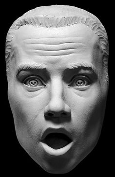 Expression of Surprise Sculpting Reference Cast
