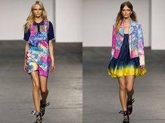House of Holland 2013 Spring Summer Womens Runway Collection