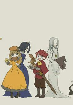 HP Story - Helga Hufflepuff, Rowena Ravenclaw, Godric Gryffindor & Salazar Slytherin