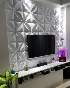 TV wall unit Designs is an essential part while designing your living room, Bedroom or tv room. Tv Stand Designs For Living Room have to be. Wall Unit Designs, Living Room Tv Unit Designs, Tv Stand Designs, Tv Wall Design, Tv Unit Decor, Tv Wall Decor, Tv Wanddekor, Modern Tv Wall Units, Home Ceiling