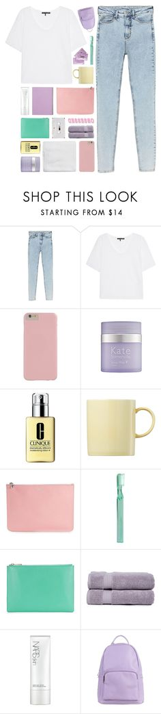 """""""cotton candy... [TOP SET]"""" by cinnamon-and-cocoa ❤ liked on Polyvore featuring Monki, rag & bone, Kate Somerville, Clinique, Rosenthal, Alexander McQueen, Supersmile, Pure Fiber, NARS Cosmetics and SPURR"""