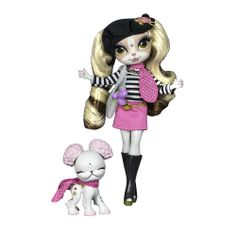 "Pinkie Cooper Travel Doll with Pet - Paris - The Bridge Direct - Toys ""R"" Us"