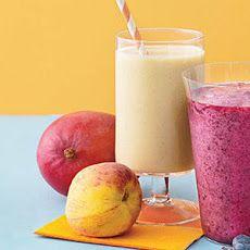 Mango-Peach Smoothie II Recipe: why not sweeten with agave/honey/vanilla?