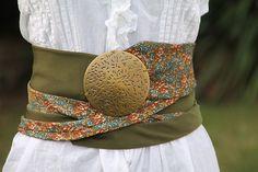 ceinture cravate bohème