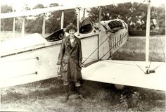 In August 1915 Neta Snook entered Iowa State College after graduating from Ames High. Attended flying schools, became a pilot, and is believed to be the first licensed woman pilot in Iowa. In WWI she worked for the British Air Ministry in Elmira, New York. She barnstormed, taught students to fly. Became a licensed flight instructor, with Amelia Earhart her most famous student. Photo courtesy of Karsten Smedal