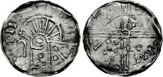 Hiberno-Norse. temp. Domnall mac Taidc Ua Briain – Brotar mac Torcaill. Early-mid 12th century. AR Penny (18mm, 0.43 g). Phase VI coinage. Uncertain mint and moneyer. Struck circa 1095/1100-1150. Crude draped bust left; crozier before / Voided long cross, with annulet at center and cruciform scepters and pellets alternating in quarters. SCBI -; SCBC 6187. Good VF, toned. Rare Vikings, Medieval, Baltic Region, Coin Art, Viking Age, 12th Century, Seals, Archaeology, Britain