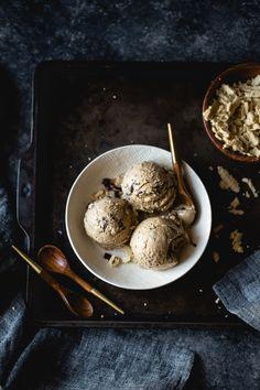 Coffee Halva Chocolate Chip Ice Cream