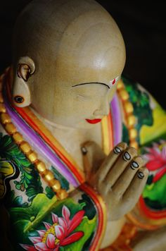 """""""If in our daily life we can smile, if we can be peaceful and happy, not only we, but everyone will profit from it. This is the most basic kind of peace work.""""   ― Thich Nhat Hanh  #buddha #buddhism #quote"""