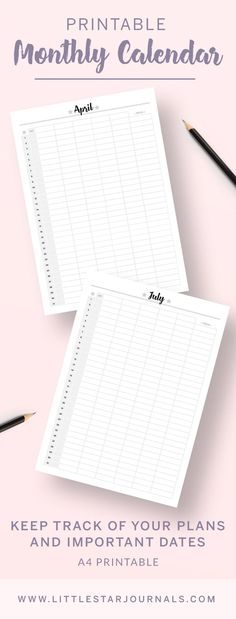 Family life can be hard to keep track of everyone's activities. This lovely printable family calendar helps to organise and show everyone's plans for the week and for the month. As well as monthly overviews. Start organising your family now! Family Calendar, Weekly Calendar, Printable Planner Pages, Printables, Agenda Planner, Planner Diy, Planner Ideas, Apps For Moms, Keep Track