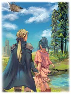 ♔Royal Shock of Figaro♔ Final Fantasy Iv, Final Fantasy Artwork, Terra Branford, Best Rpg, Video Game Art, Magical Creatures, Anime Guys, Mythology, Character Design