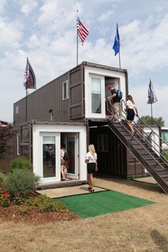 Container House - Shipping Container Homes: Shipping Container Modular Home, - MODS® International, - Appleton, Wisconsin, Who Else Wants Simple Step-By-Step Plans To Design And Build A Container Home From Scratch? Storage Container Homes, Building A Container Home, Cargo Container, Container House Plans, Shipping Container Buildings, Shipping Container Design, Shipping Containers, Prefab Homes, Modular Homes