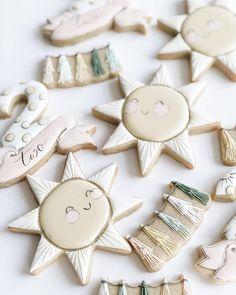 Summer Cookies, Cookies For Kids, Baby Cookies, Baby Shower Cookies, Cute Cookies, Cupcake Cookies, No Bake Sugar Cookies, Royal Icing Cookies, First Birthday Cupcakes