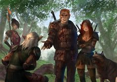 Alistair: -I don't know why we should take you with us, but if our Leader said so…