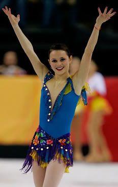 Gracie gold, Red Figure Skating / Ice Skating dress inspiration ...