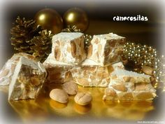 Turron Duro o de Alicante (Thermomix) Tostadas, Gift Wrapping, Desserts, Gifts, Food, Nougat Recipe, Holiday Desserts, Almonds, Christmas Recipes