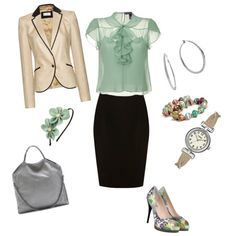 Business Wear, created by amy-nitkiewicz on Polyvore
