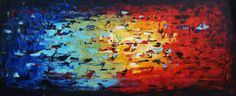 Huge 72 painting free shipping from Jolina by jolinaanthony