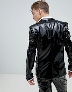 be that Leather, Boots, Rubber, Smoking. Mens Leather Shirt, Tight Leather Pants, Leather Blazer, Adidas Track Pants Mens, Adidas Pants, Jeans En Cuir, Costume Slim, Latex Men, Asos