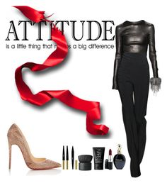 """""""Attitude"""" by alexandraleru on Polyvore featuring Christian Louboutin, Narciso Rodriguez, Chanel, Roberto Cavalli, MAC Cosmetics, NARS Cosmetics and Yves Saint Laurent"""