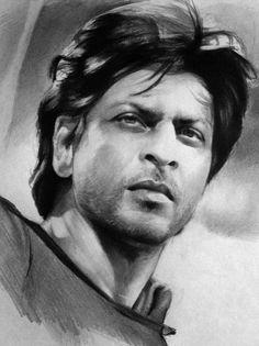 shahrukh khan coloring pages | 49 Best Sketch Of SRK images in 2015 | Fan art, Fanart ...