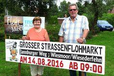 Wiesmoor-info: Großer Straßenflohmarkt Wiesederfehn