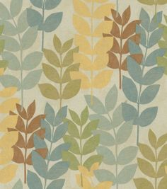 fabric and color scheme inspiration for living room: Richloom Studio Presidio Water. So beautiful in person, with a slight sheen and rich but soft colors.