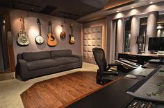home music studio room - Google Search                                                                                                                                                                                 More