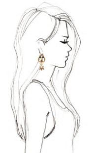 Image result for Woman Side Profile Drawing
