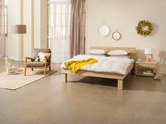 Micasa Schlafzimmer mit Bett OAKLINE WILD (individuell zusammenstellbar) und Nachttisch CUBO Bed, Furniture, Home Decor, Double Beds, Arredamento, Home Decoration, Bedroom, Twin Size Beds, Nightstand