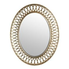 Extra Large CELTIC KNOT Round Wall Mirror Silver Gold Circle