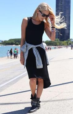 How to Wear Black this Summer