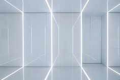 Image 10 of 20 from gallery of Glass office SOHO China / AIM Architecture. Photograph by Jerry Yin Soho, Interior Lighting, Lighting Design, Shanghai, Glass Wall Design, Architecture Résidentielle, Back Painted Glass, Design Light, Glass Office