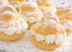 AllWhites and Better'n Eggs: White Chocolate Cranberry Tiny Cream Puffs Recipe