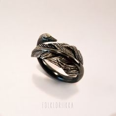 Black Swan Ring #folkloriikka