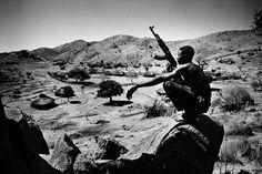 the nuba in sudan by Francesco Zizola | NOOR