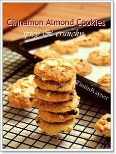 Cookies Renyah Kaya Rempah resep andalan ^_^ Step by Step Lava Cookies, Choco Chip Cookies, Almond Cookies, Chocolate Cookies, Cokies Recipes, Cupcake Recipes, Princess Cookies, Cinnamon Cookies, Biscuit