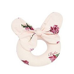 Baker by Ted Baker - Baby girls' pink tulip print rattle