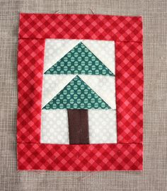 Mini Christmas Tree Quilt Ornament Tutoial - Diary of a Quilter - a quilt blog