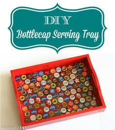 This tray is so simple to make with only a few supplies! Such a fun idea for entertaining or gifts.