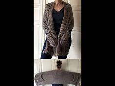 Easy Crochet Blanket, Crochet Granny, Double Crochet, Knit Crochet, Crochet Hats, Crochet Shawls And Wraps, Little Stitch, Knitting Designs, Crochet Patterns