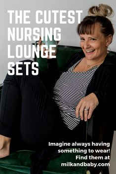 Look great and feel great in these nursing friendly lounge sets for postpartum! Postpartum Nursing, Breastfeeding Accessories, Skin To Skin, Best Baby Shower Gifts, Doula, Feeling Great, Maternity, Lounge, Advice